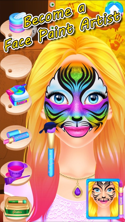 Halloween Face Paint Spa Party screenshot-4