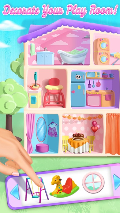 Sweet Baby Girl Dollhouse FULL screenshot 3
