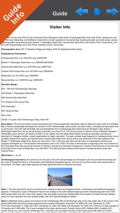 Chickamauga Lake Tennessee HD GPS fishing charts screenshot-3