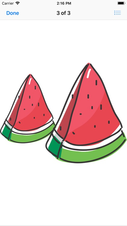 Wonderful Watermelon Stickers screenshot-3