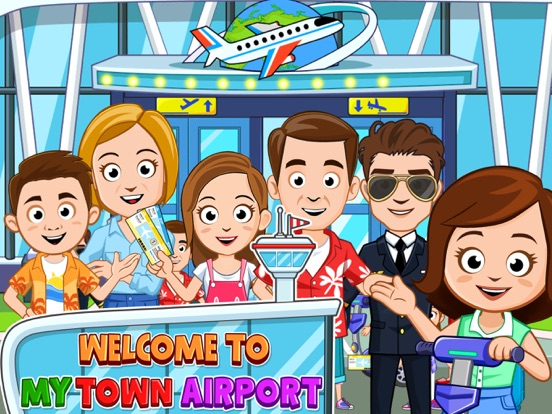 My Town : Airport Screenshots