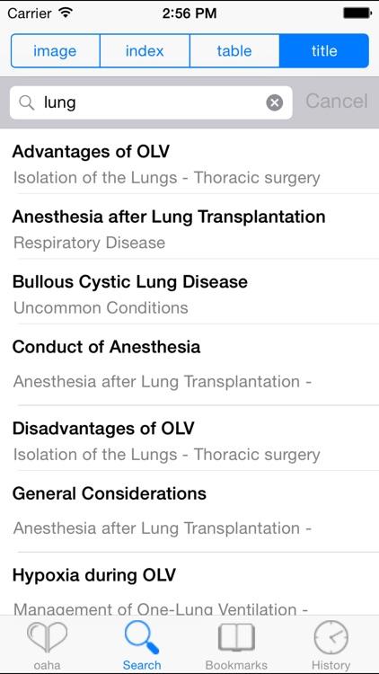 OA Handbook of Anesthesiology screenshot-3