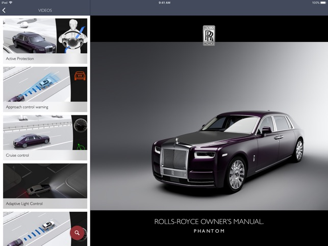 Rolls Royce Owner S Manual On The App Store