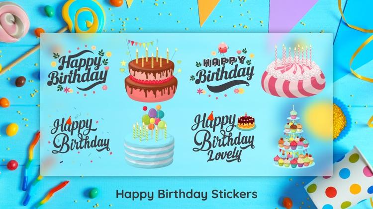Birthday Sticker for iMessage