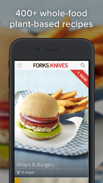 Screenshot for Forks Over Knives (Recipes) in United States App Store
