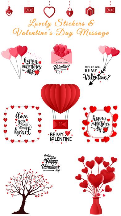 Love Stickers Valentine's Days screenshot 1