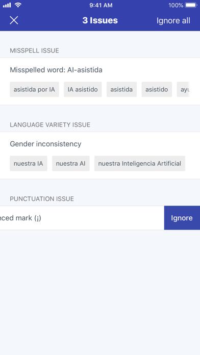 Unbabel for translators screenshot four