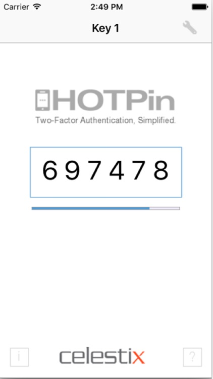 HOTPin Client for iOS