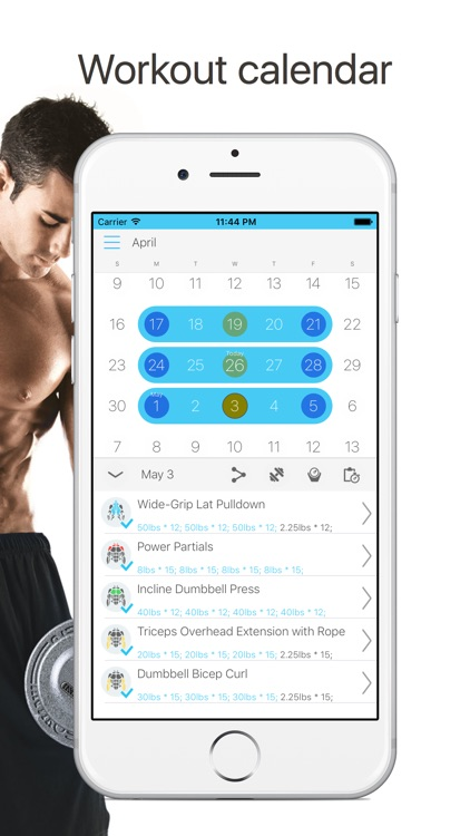 iJock - Gym Workout Routines