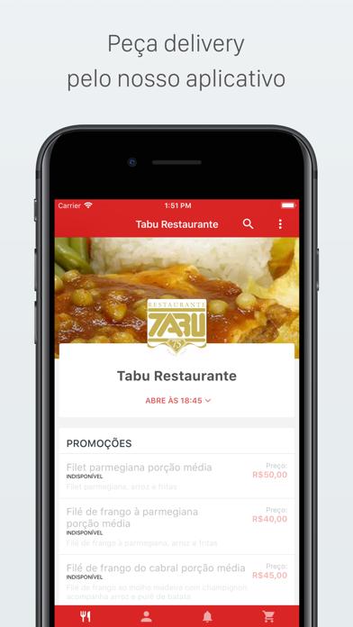 点击获取Tabu Restaurante Delivery