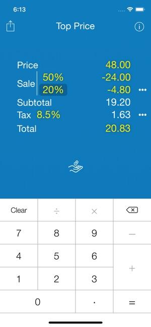 sales calculator app
