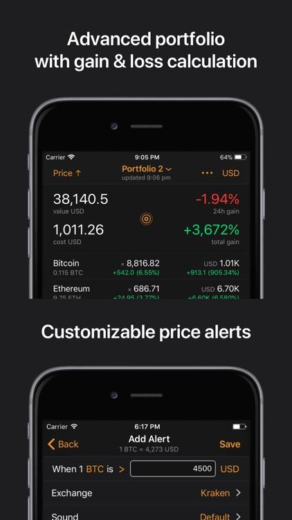 Crypto Pro: Bitcoin Tracker screenshot-3