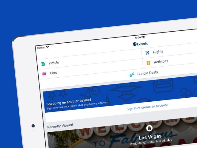 Expedia Hotels Flights Car On The App Store
