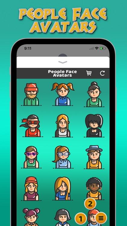 People Face Avatars