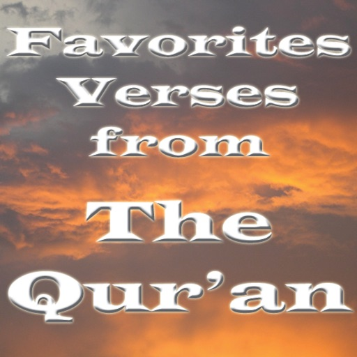 Favorite Verses from The Qur'an