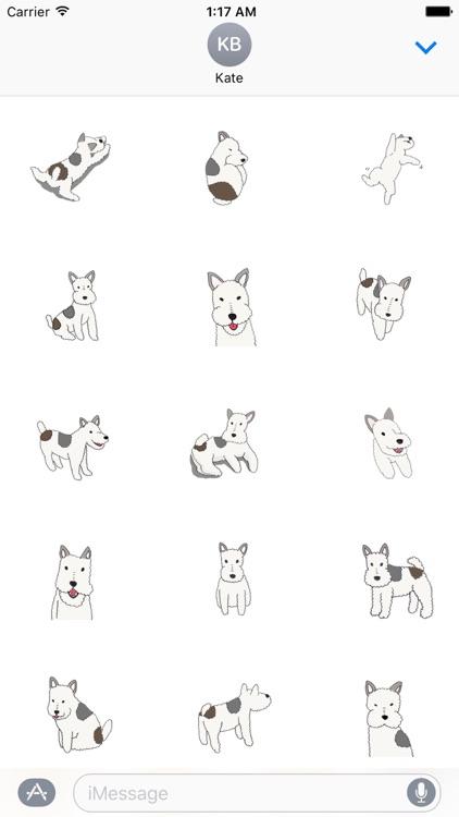 Wire Fox Terrier Dog Sticker