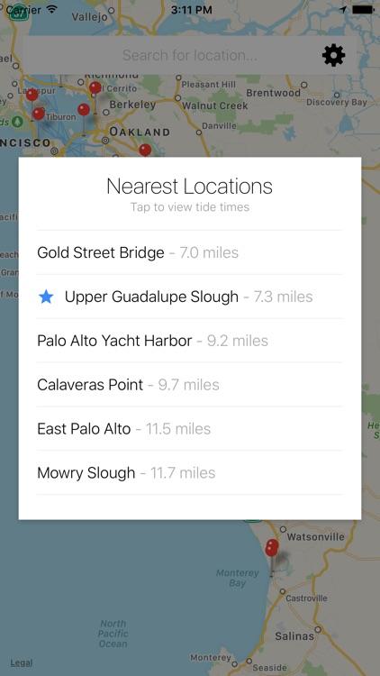 Ocean Tide Forecast Apps