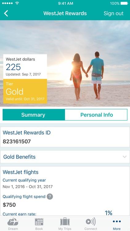WestJet screenshot-4