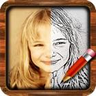Meine Künstler-Skizze - Ihre Skizzieren App, um Fotos für iPhone & iPod Touch hinzufügen icon