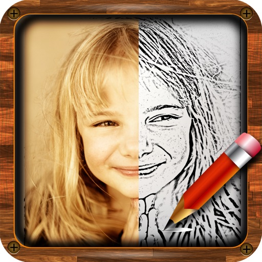 My Artist Sketch - Your Sketching App Add to Photos for iPhone & iPod Touch icon