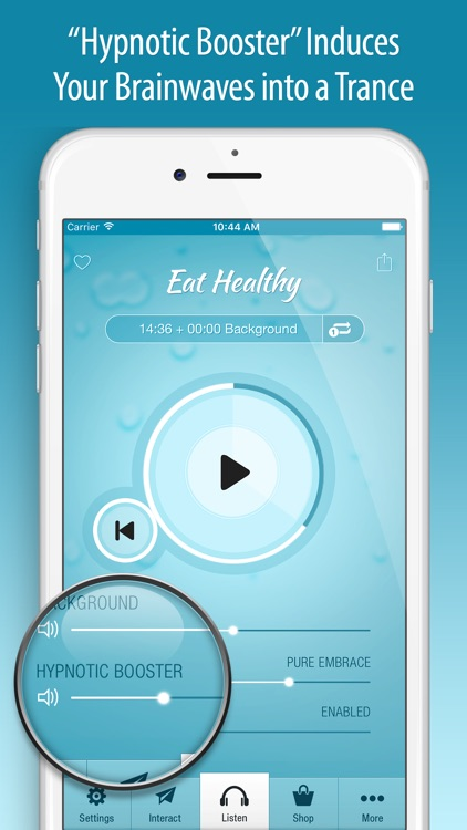 Eat Healthy Hypnosis PRO screenshot-3