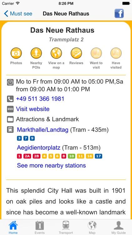 Hanover Travel Guide Offline screenshot-4