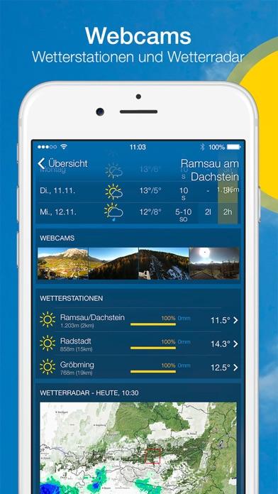 Screenshot #3 pour bergfex/Wetter