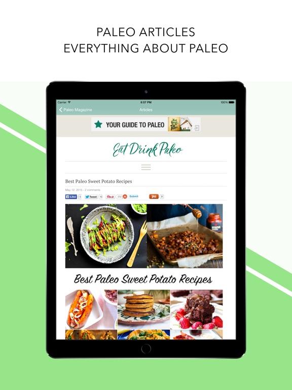 screenshot 4 for paleo diet food list