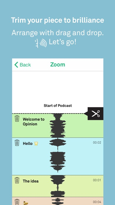 Opinion Podcasts – Record Edit screenshot two