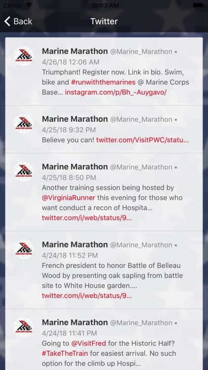 Marine Corps Historic Half screenshot-3