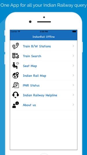 Indian railway info java app