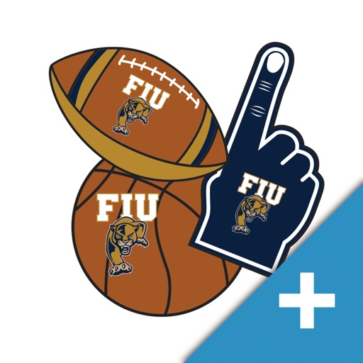 FIU Panthers PLUS Selfie Stickers
