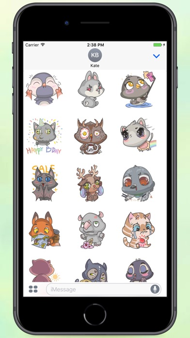 Screenshot for A Lot Of Animals Stickers in Colombia App Store