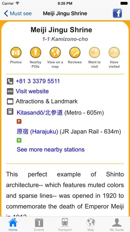 Tokyo Travel Guide Offline screenshot-4