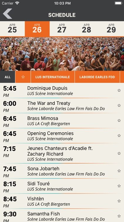 Festival Intl. de Louisiane screenshot-1
