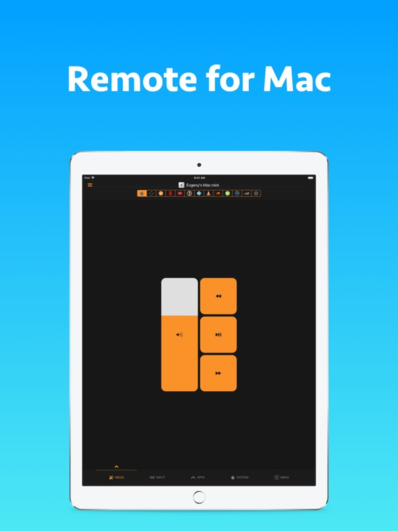 Screenshot #1 for Remote Control for Mac - Pro