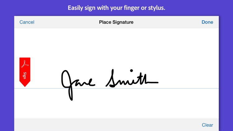 Adobe Fill & Sign screenshot-3