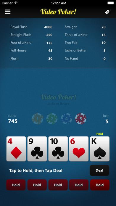 Poker! screenshot two