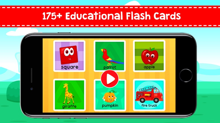 Baby Flash Cards - First Words screenshot-0
