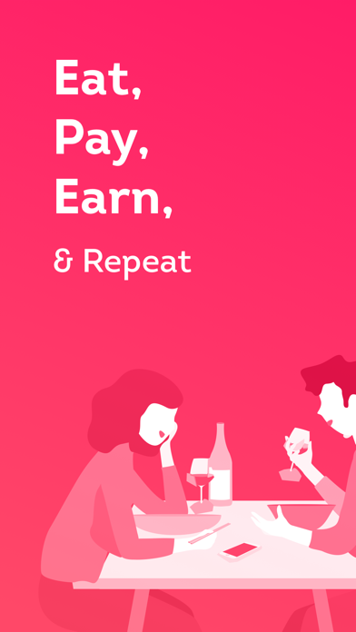 Liven - Eat, Pay & Earn - 窓用