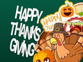 Special Thanksgiving Stickers