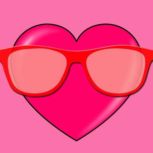 Rosarote Brille Englisch
