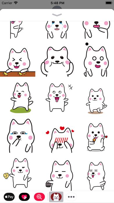Corgi Animated Stickers screenshot two