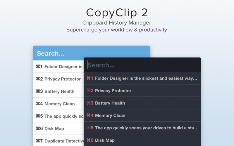 CopyClip 2 - Clipboard Manager Screenshot 01 9nlv2mn