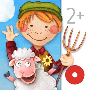 Tiny Farm: Toddler Games 2+ Logo