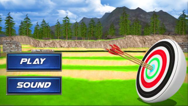 Archery Target 3D Screenshot