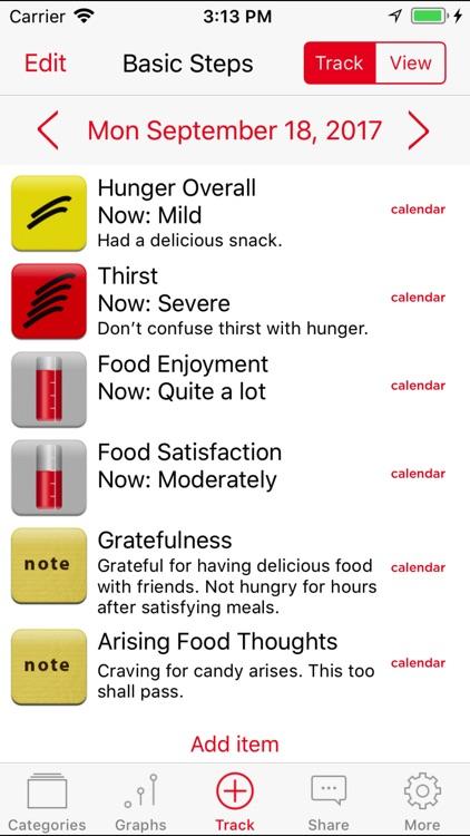 Mindful Eating Tracker