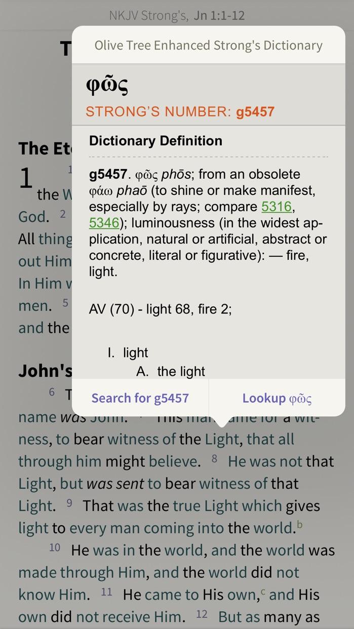 NKJV Bible by Olive Tree Screenshot
