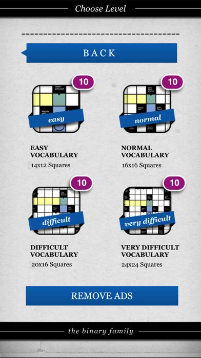 Crossword Puzzle . screenshot 3