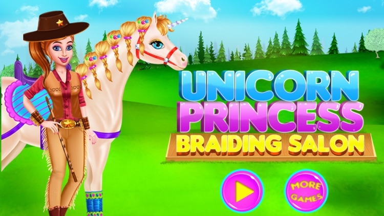 Unicorn Princess Braid Salon